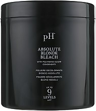 Духи, Парфюмерия, косметика Пудра осветляющая безаммиачная до 9 тонов - pH Laboratories Absolute Blonde Bleach