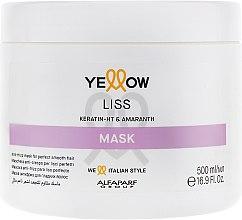 Духи, Парфюмерия, косметика Маска для прямых волос - Yellow Ye Liss Therapy Mask