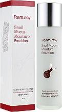 Духи, Парфюмерия, косметика Увлажняющая эмульсия для лица - FarmStay Snail Mucus Moisture Emulsion