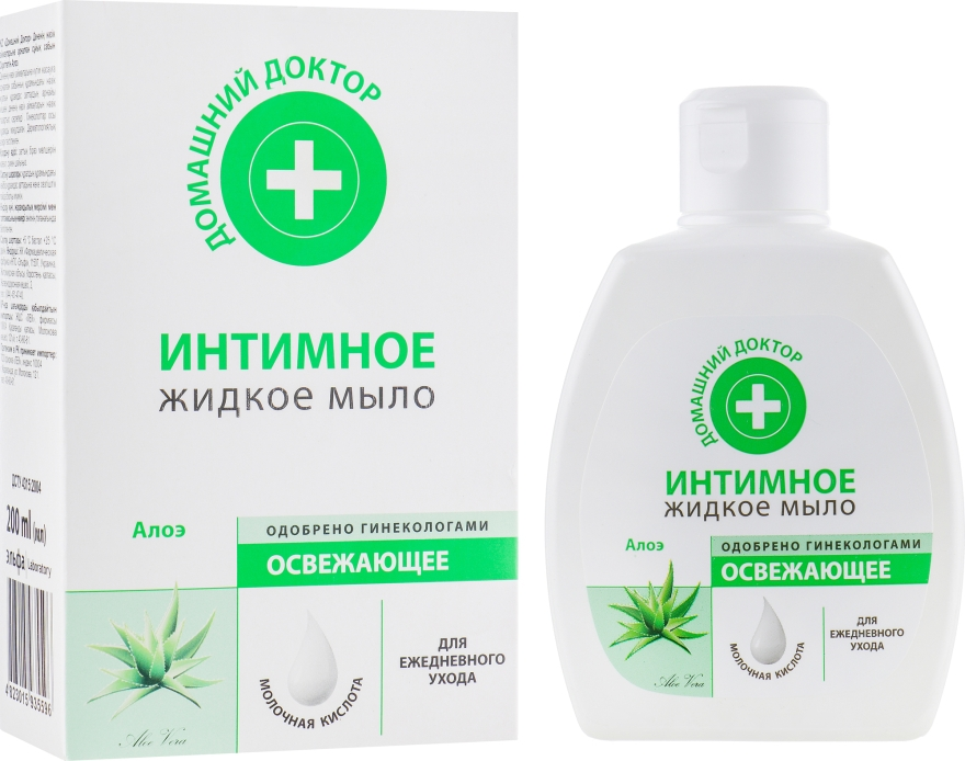 """Жидкое интимное мыло """"Освежающее"""" - Домашний Доктор"""