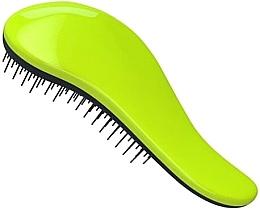 Духи, Парфюмерия, косметика Щетка для распутывания волос - KayPro Dtangler Green Black Brush