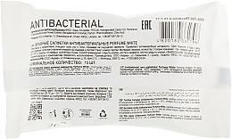 Влажные антибактериальные салфетки, 15 шт - Unis Perfume White — фото N2