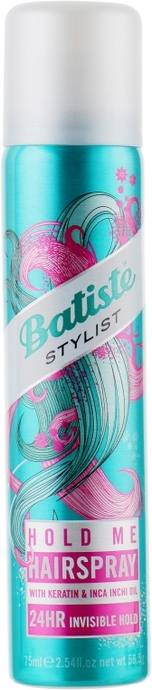 Лак для волос - Batiste Dry Styling Hold Me Hairspray