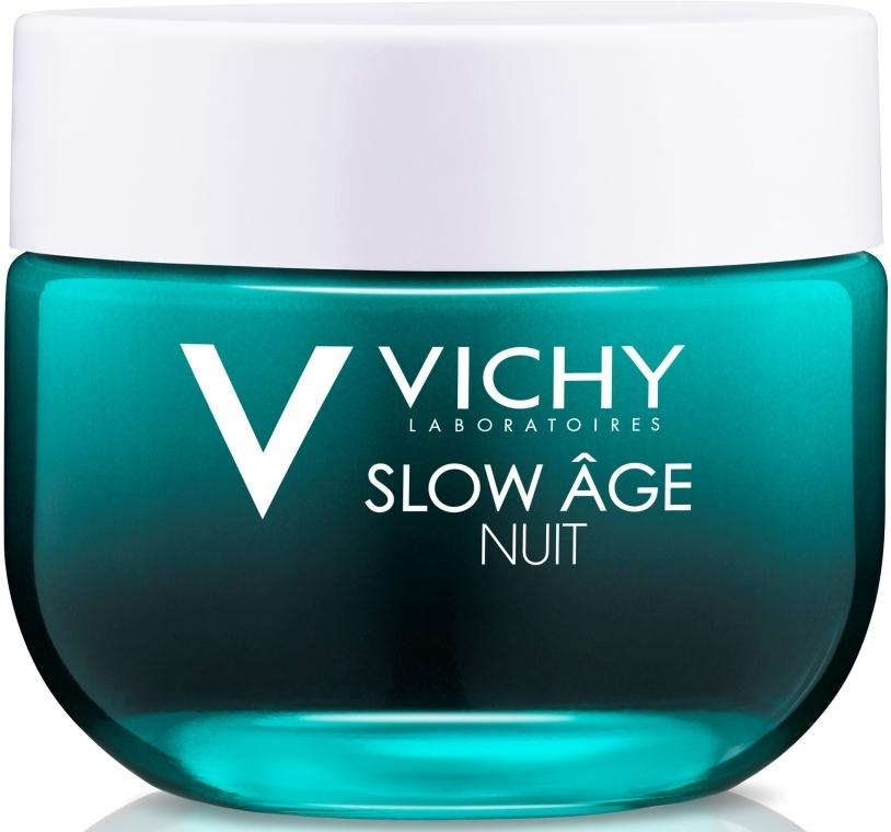 Ночная крем-маска для коррекции признаков старения кожи - Vichy Slow Age Fresh Cream & Mask