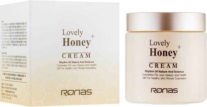 Медовый крем для лица - Ronas Lovely Honey+ Cream