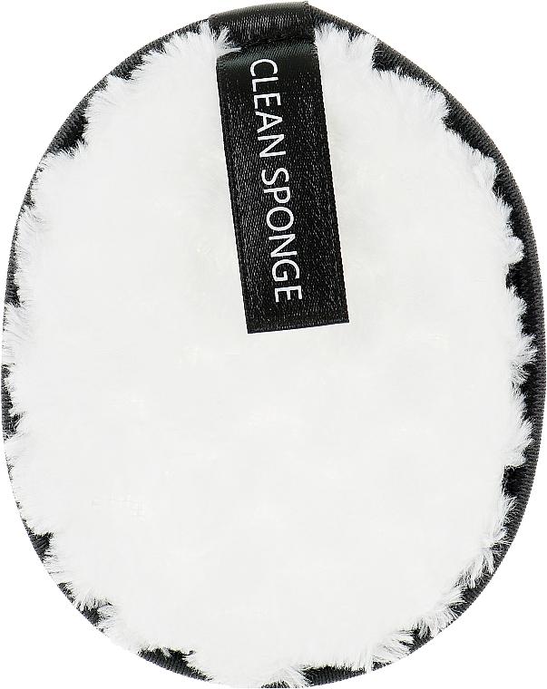 Хлопковый спонж для умывания, PF-32, белый - Puffic Fashion