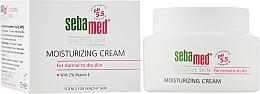 Духи, Парфюмерия, косметика Увлажняющий крем - Sebamed Moisturing Face Cream Sensitive Skin