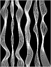 """Духи, Парфюмерия, косметика Самоклейка """"Гибкая полоска волна"""" для ногтей - Vizavi Professional"""
