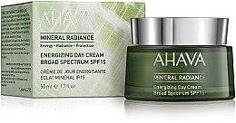Духи, Парфюмерия, косметика Минеральный дневной крем для лица - Ahava Mineral Radiance Energizing Day Cream SPF 15