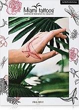 Парфумерія, косметика Дизайнерські перебивні тату - Miami Tattoos Africa by Martha Bocharova