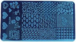 Парфумерія, косметика Пластина для стемпінга - Tufi Profi XY-Z28