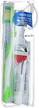 Духи, Парфюмерия, косметика Дорожный набор для гигиены полости рта - White Glo Travel Pack (t/paste/24g + t/brush/1 + t/pick/8)