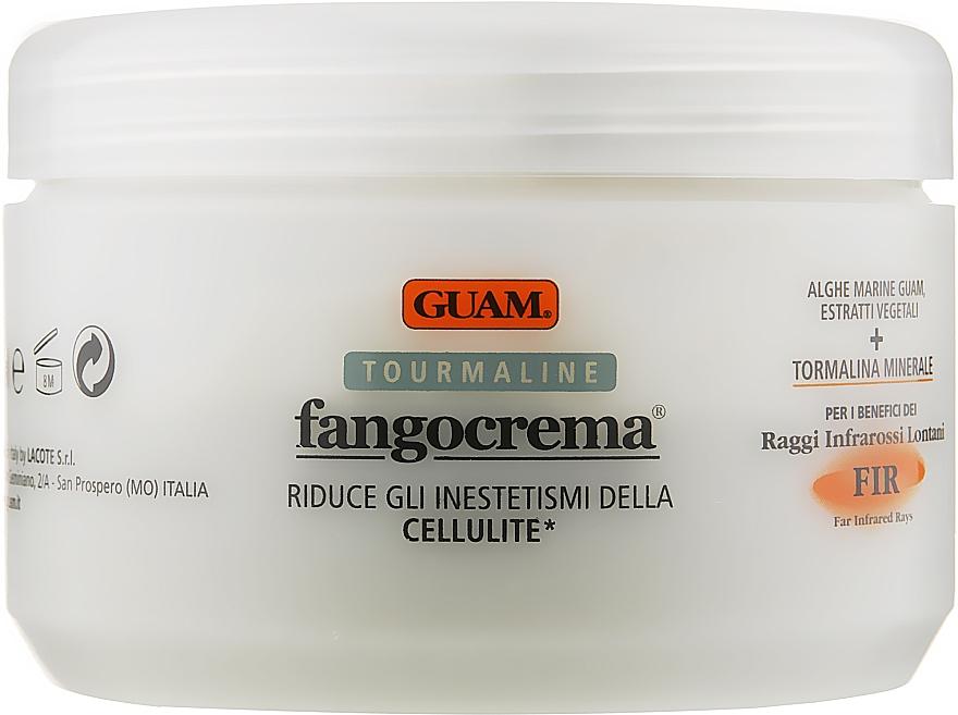 Антицеллюлитный разогревающий крем с микрокристаллами турмалина - Guam Fangocrema Tourmaline