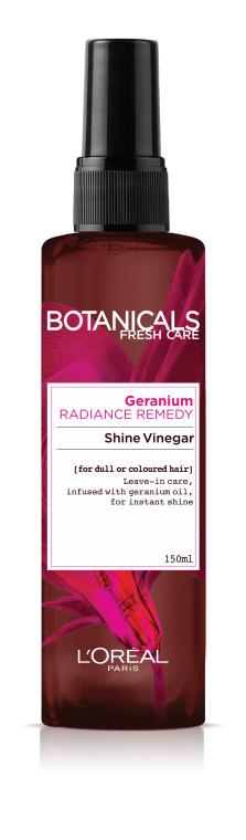 """Спрей """"Роза и Герань, Эликсир Сияния"""" для окрашенных и тусклых волос - L'Oreal Paris Botanicals Fresh Care Rose & Geranium Radiance Remedy Shine Vinegar"""