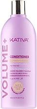 Духи, Парфюмерия, косметика Кондиционер для объема волос - Kativa Volume + Conditioner
