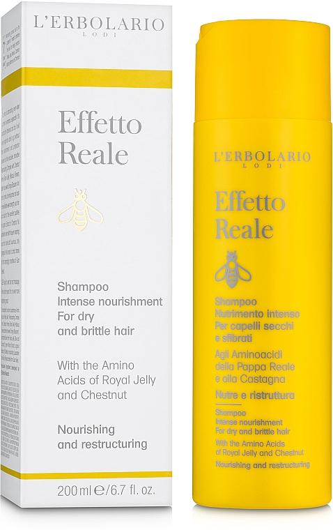 """Шампунь для сухих и поврежденных волос """"Интенсивное питание"""" - L'Erbolario Effetto Reale Shampoo Nutrimento Intenso"""
