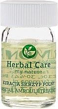 Средство против выпадения волос, питательное, стимулирующее рост волос - Farmona Herbal Care Horsetail Ampoule Treatment — фото N2