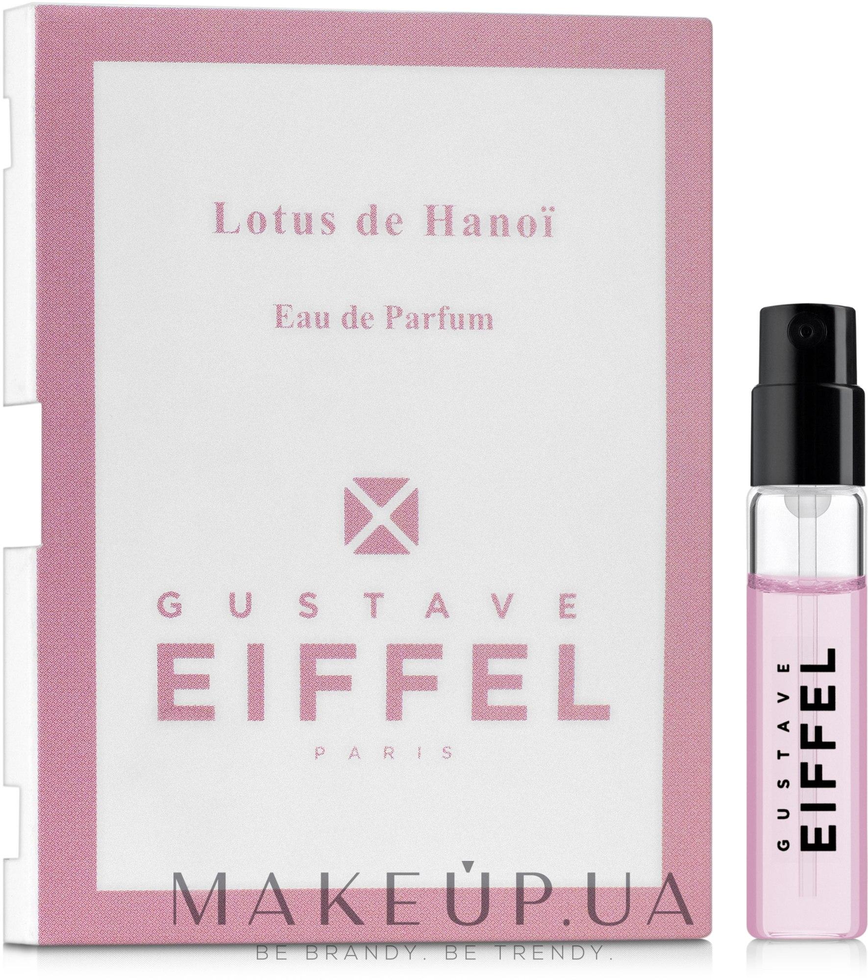 Gustave Eiffel Lotus de Hanoi - Парфюмированная вода (пробник) — фото 1.5ml