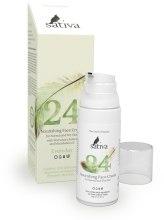 Духи, Парфюмерия, косметика Крем для лица питательный №24 для сухой кожи - Sativa Every Day Nourishing Face Cream