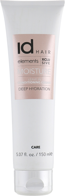Увлажняющий несмываемый кондиционирующий крем - idHair Elements Xclusive Moisture Leave-in Conditioner Cream