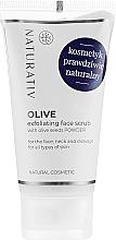 Духи, Парфюмерия, косметика Оливковый пилинг лица - Naturativ Olive Exfolianting Face Scrub