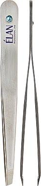 Пинцет для бровей, с кристаллом - Elan Professional Line