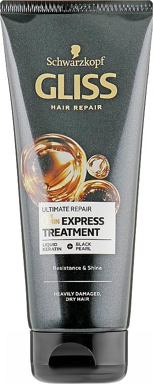 """Маска """"Экспресс-уход 1 минута"""" для сильно поврежденных и сухих волос - Gliss Kur Ultimate Repair"""