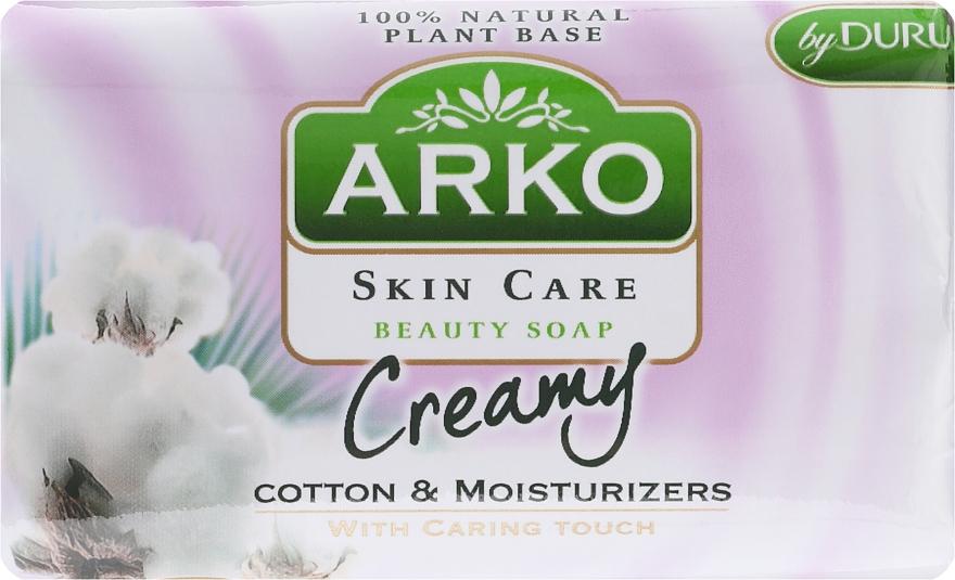 Мыло - Arko Beauty Soap Creamy Cotton & Cream