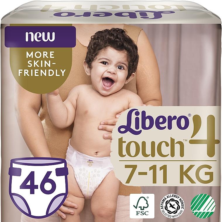 Подгузники Touch 4 (7-11 кг), 46 шт - Libero