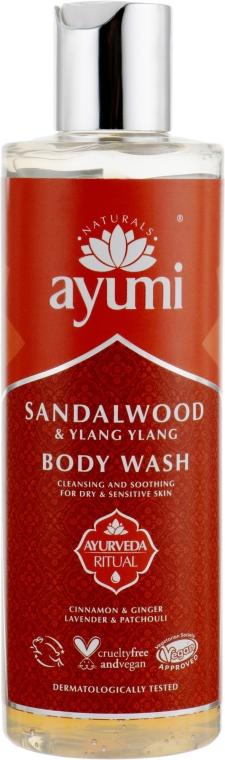 Гель для душа - Ayumi Sandalwood & Ylang Ylang Body Wash