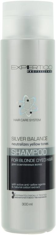 Шампунь для осветленных волос - Tico Professional Expertico Silver Balance Shampoo