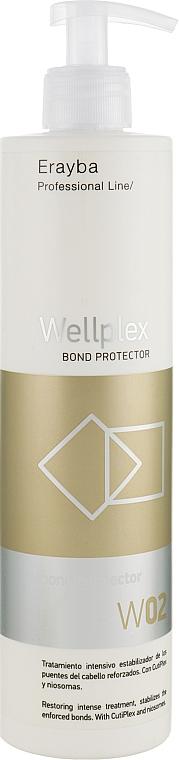 Средство для лечения и восстановления волос после окрашивания и осветления - Erayba Wellplex W02 Bond Connector