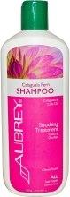 Відновлюючий заспокійливий шампунь «Тропічна папороть» - Aubrey Organics Soothing Calagula Fern Shampoo — фото N1