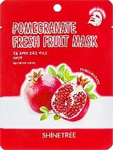 Духи, Парфюмерия, косметика Маска для лица с экстрактом граната - Shinetree Pomegranate Fresh Fruit Mask
