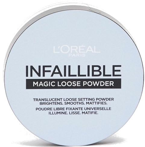 Пудра рассыпчатая закрепляющая - L'Oreal Paris Infaillible Magic Loose Powder