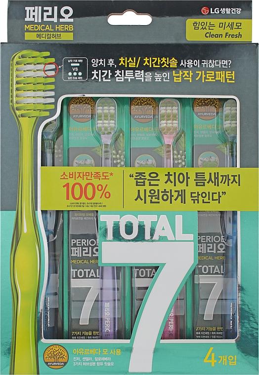 Зубная щетка, Total 7, освежающая - LG