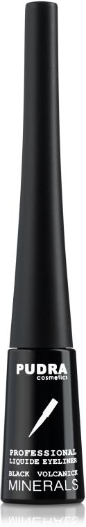 Жидкая подводка для глаз - Pudra Cosmetics Professional Liquide Eyeliner