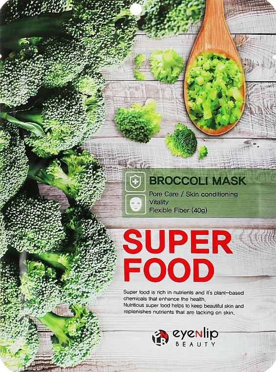 Маска для лица с экстрактом брокколи - Eyenlip Super Food Broccoli Mask