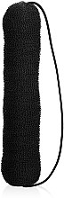 "Духи, Парфюмерия, косметика Резинка-шиньон для волос ""Banan"" 10231BK, 220 мм, Black - Kiepe"