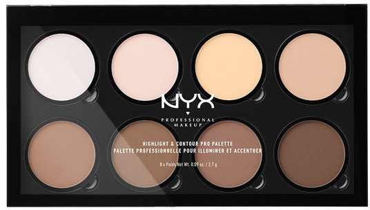 Палетка для контурирования - NYX Professional Makeup Highlight & Contour Pro Palette