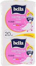 Духи, Парфюмерия, косметика Прокладки Perfecta Rose Deo Fresh Soft Ultra, 10+10шт - Bella
