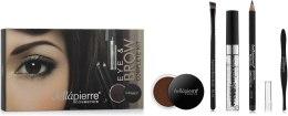 Духи, Парфюмерия, косметика Набор для макияжа глаз и бровей - Bellapierre Eye & Brow Complete Kit Marrone