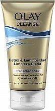 Духи, Парфюмерия, косметика Очищающий гель-скраб - Olay Cleanse Detox & Luminosity Facial Cleansing Gel