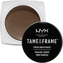 Духи, Парфюмерия, косметика Помада для бровей - NYX Professional Makeup Tame & Frame Brow Pomade
