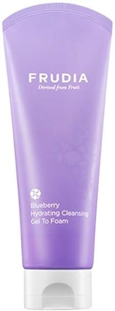 Увлажняющая гелевая пенка для умывания лица - Frudia Hydrating Blueberry Cleansing Gel to Foam