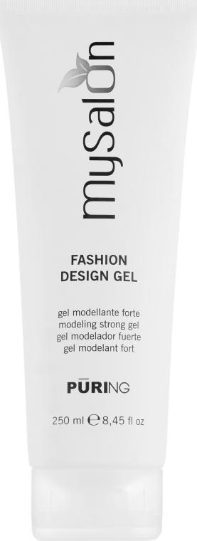 Моделирующий гель сильной фиксации - Puring MySalon Fashion Design Gel