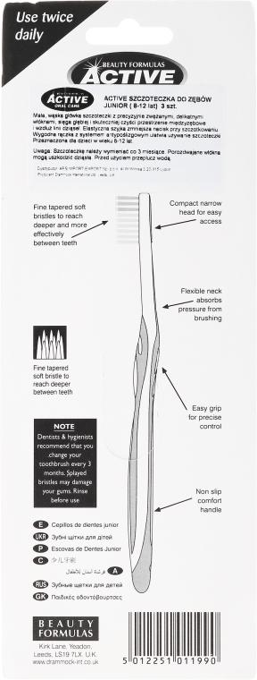 Зубная щетка - Beauty Formulas Active Oral Care Junior — фото N2