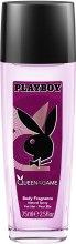Духи, Парфюмерия, косметика Playboy Queen of the Game - Спрей для тела