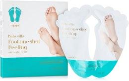 Духи, Парфюмерия, косметика Пилинг для ног - Holika Holika Baby Silky Foot One Shot Peeling Mask Sheet