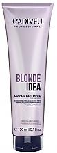 Духи, Парфюмерия, косметика Тонирующая маска для светлых волос - Cadiveu Blonde Idea Balance Mask